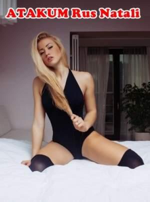 Atakum Rus Escort Natali Otellerde Hizmet Verecek !